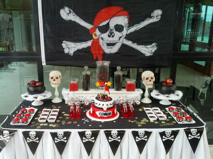 Pirate themed Lolly Buffet