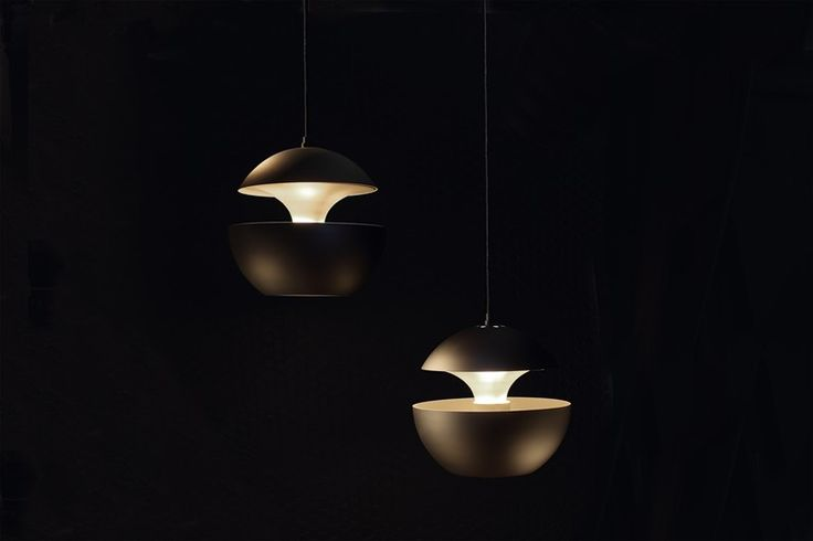 Aluminium pendant lamp HERE COMES THE SUN - DCW éditions