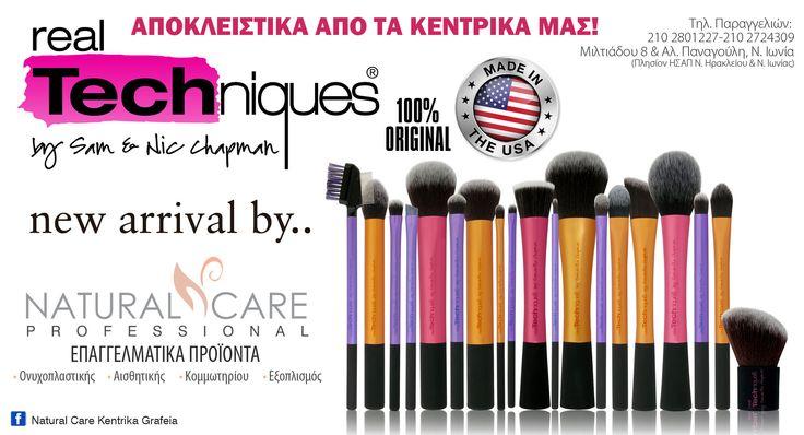 ΑΜΕΣΑ Διαθεσιμα και για αγορα απο τα κεντρικα μας Mε μεγαλη χαρα καλωσοριζουμε τα Real Techniques professional make up brushes......!!! Διαθεσιμα απο τα κεντρικα μας NATURAL CARE PROFESSIONAL Τηλεφωνικο κεντρο παραγγελιων 210-2801227 & 210-2724309 δευτερα-παρασκευη 09 00 - 20 00 σαββατο 09 00 - 15 00 www.naturalcarepro.gr