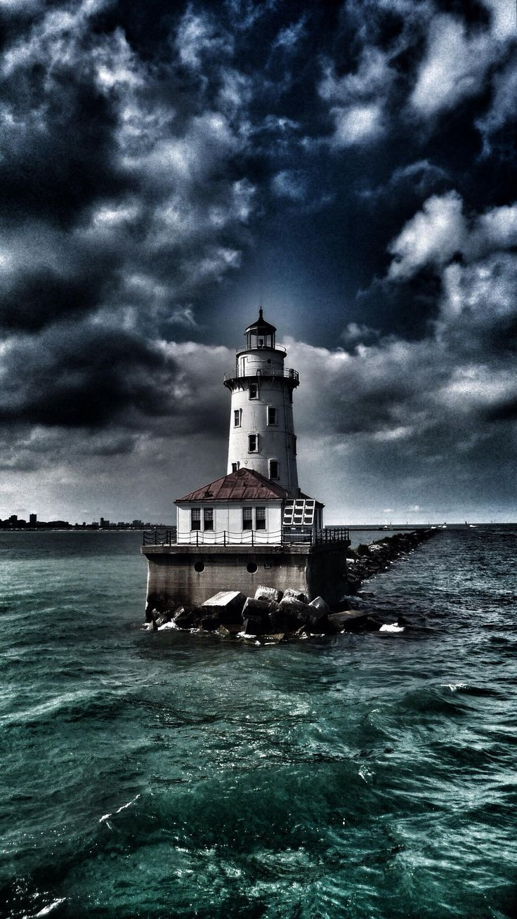 "dranilj1: ""Lighthouse… Chicago, IL """
