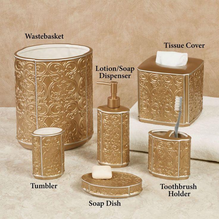 best 25+ gold bathroom accessories ideas on pinterest | copper
