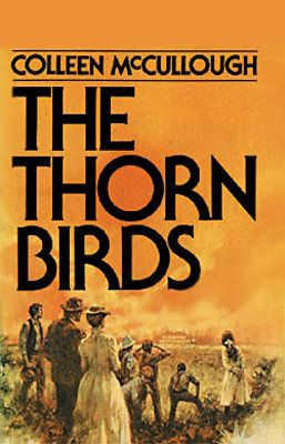 I've read The Thorn Birds too many times to count, the first time when I was in high school. And I still have my original copy!