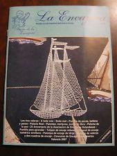 Bobbin Lace Book /Mag, La Encajara 23 - pictures, articles, patterns Milanese