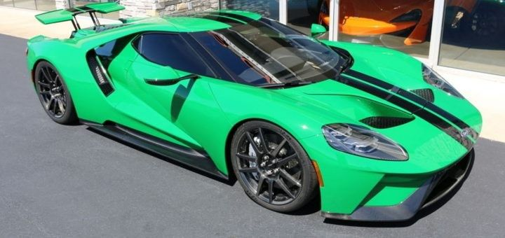 2017 Ford Gt Atlas Green Ford Gt Ford Used Aston Martin