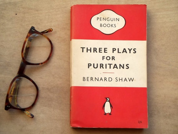 Penguin books Three Plays for Puritans by Bernard by EAGERforWORD, £4.50