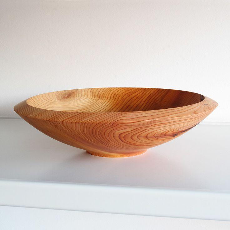 Yes a beautiful shape - - - - - - - Yew Bowl