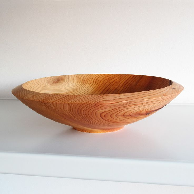 Yes a beautiful shape - - - - - - - Yew Bowl