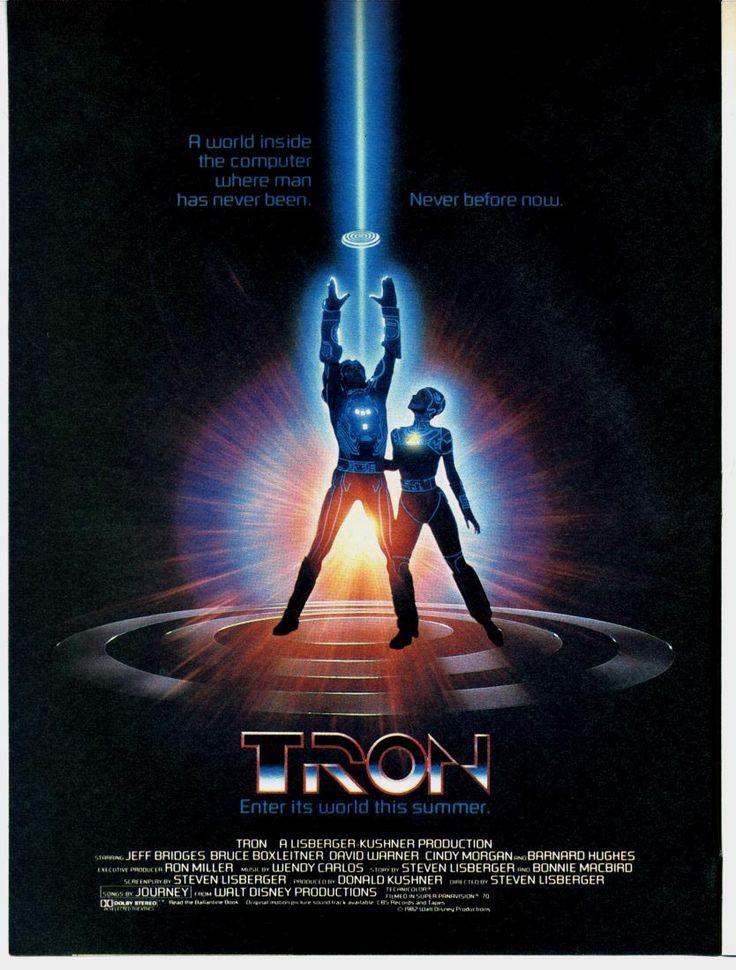 Tron poster (1982)