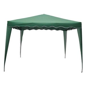 Pop Up Steel Frame Gazebo Easy to Assemble Steel Frame Pop Up Gazebo. 3 meters by 3 meters in size.