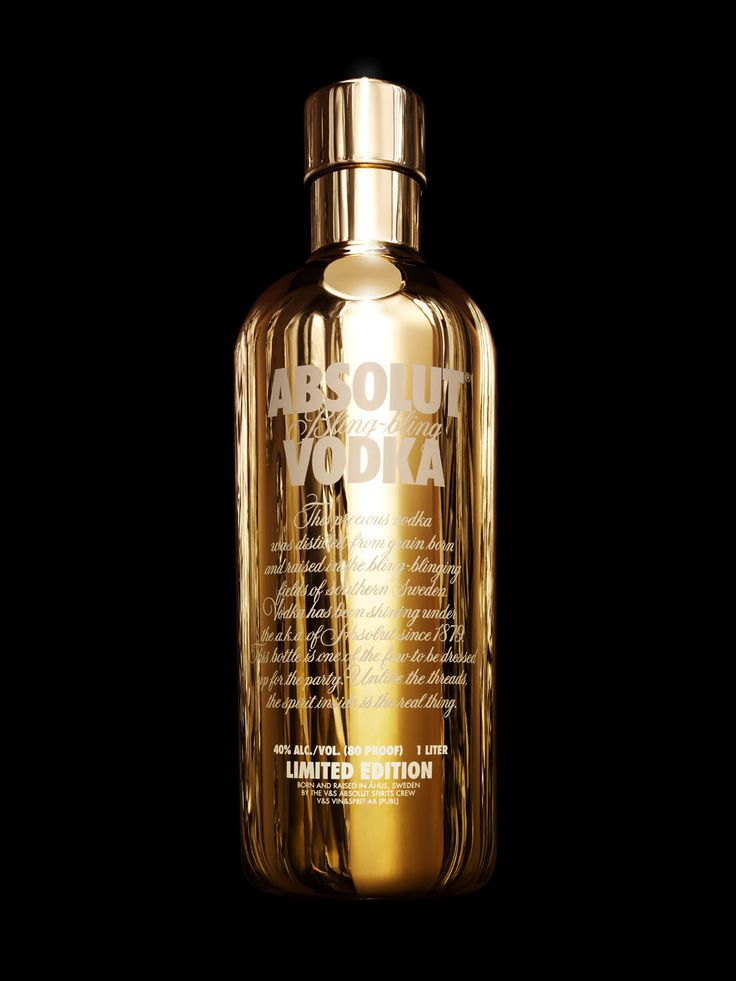 ABSOLUT   Absolut Vodka - Limited Edition: Absolut Bling-Bling (2006)