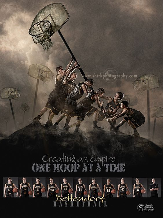 An epic basketball team poster by Shirk Photography.  Basketball is not equal to serving our country but this was meant to be a small tribute to our greatest heroes in hopes that their memory will live on and a new generation will be inspired to learn about Iwo-Jima.  Thanks to all who have served our country!    The background is available as a template at - http://shirkphotography.com/for-photographers/products/sports-templates/.  not available to photographers within 200 miles of our…