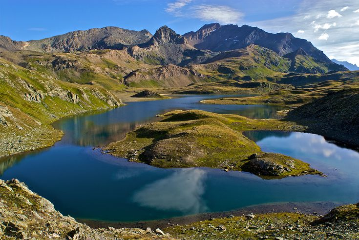 Gran Paradiso National Park | Mount Taou Blanc and the lakes, Gran Paradiso National Park, Italy