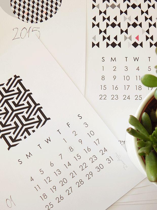 2015 εκτυπώσιμο ημερολόγιο