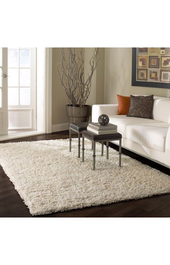 Rugs USA Venice Shaggy White RugRugs Pre Black Friday Sale Up To 75