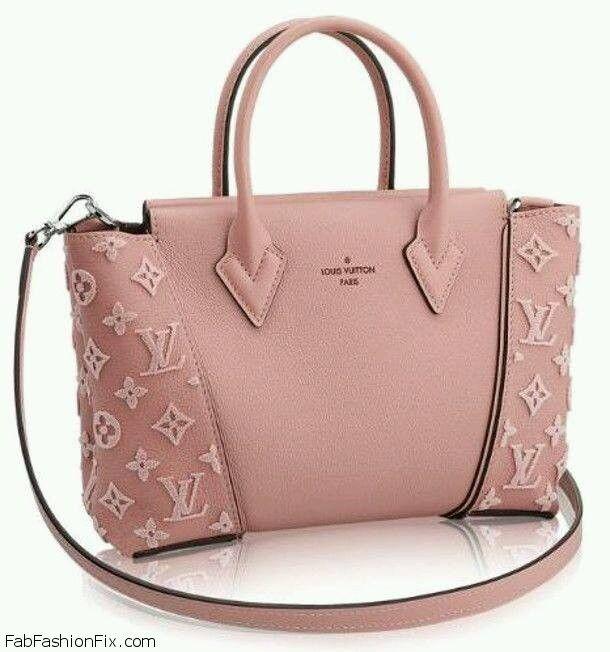 Perfect pink Louis Vuitton W handbag. #pink #louisvuitton