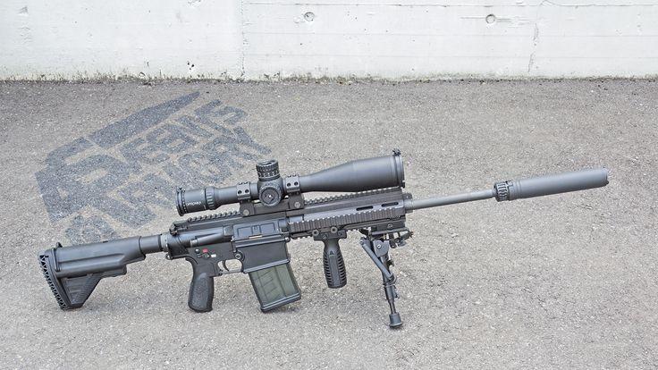 Suppressed H&K MR308