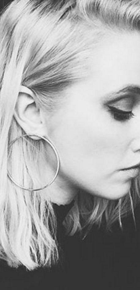 Hula Hoop Earrings by Jenny Bird