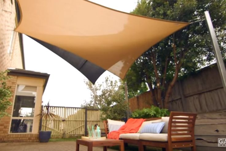 How to install your shade sail