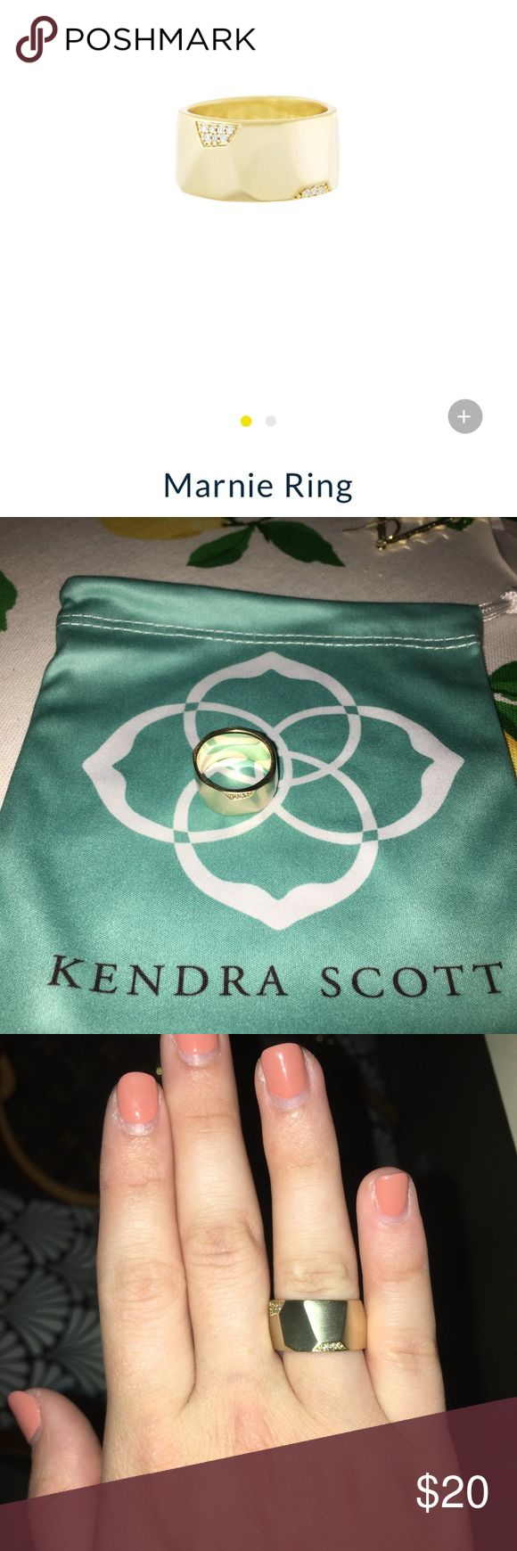 Kendra Scott Marnie Ring, Size 6 Kendra Scott Marnie Ring! Size 6, never worn! Kendra Scott Jewelry Rings