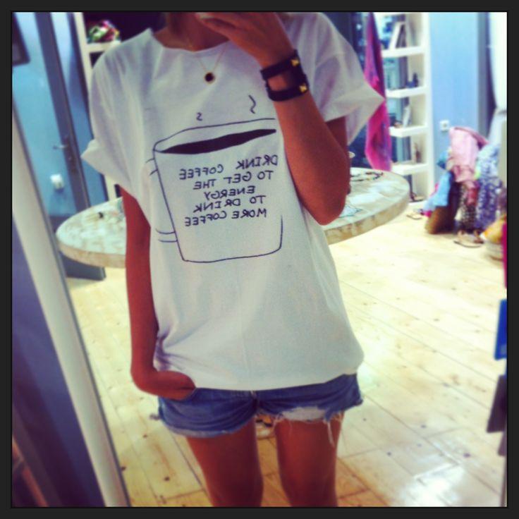 Coffee addict t-shirt!!! #A2L