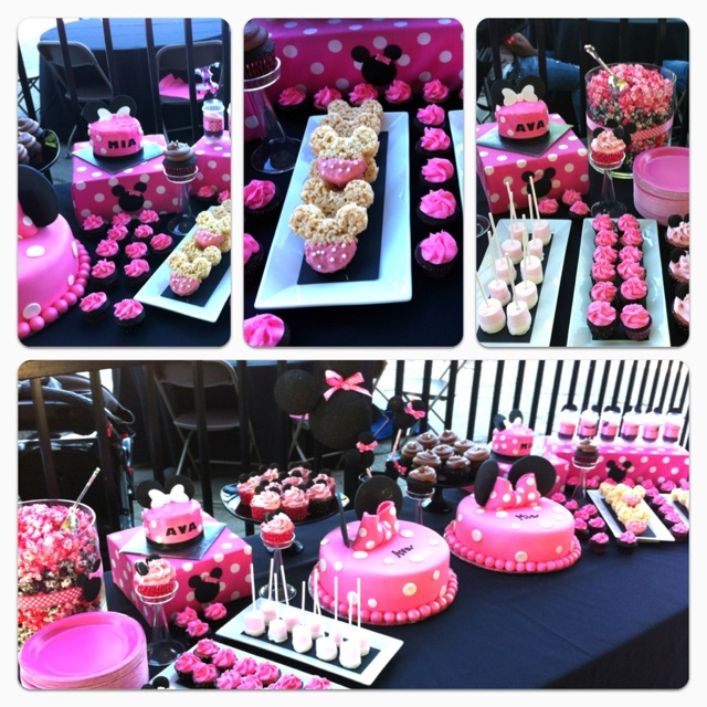 70 best Minnie mouse party images on Pinterest Birthdays Fiesta