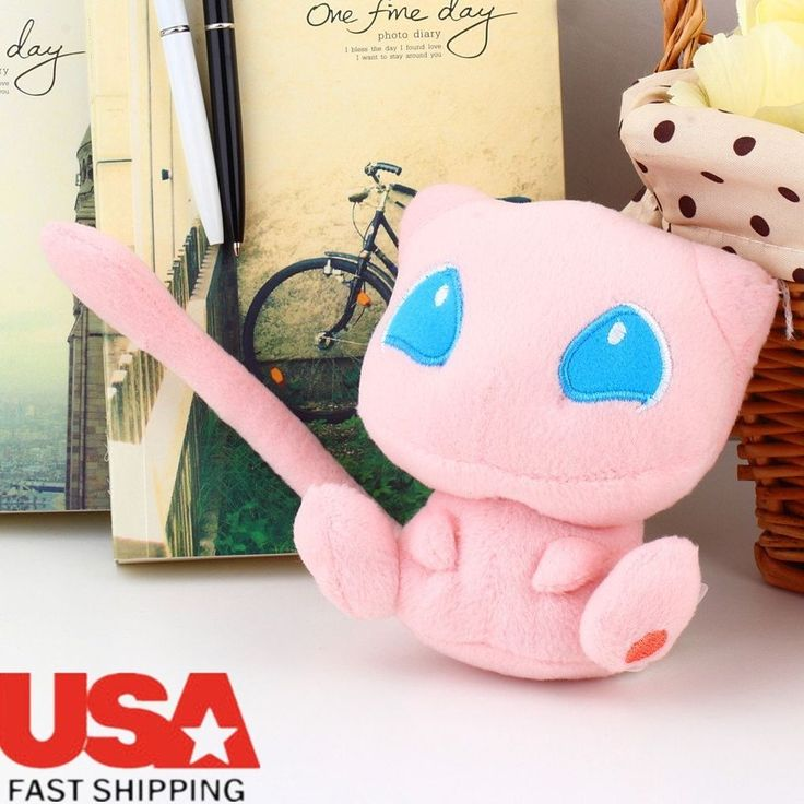 Nintendo Pokemon Rare Mew Plush Soft Doll Toy Gift Stuffed Animal Game Collect B | Toys & Hobbies, TV, Movie & Character Toys, Pokémon | eBay!
