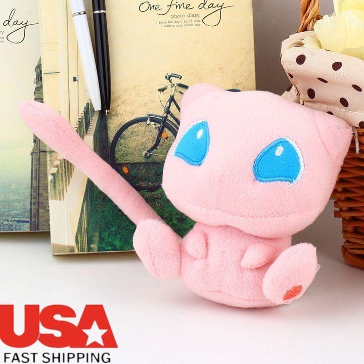 Nintendo Pokemon Rare Mew Plush Soft Doll Toy Gift Stuffed Animal Game Collect B   Toys & Hobbies, TV, Movie & Character Toys, Pokémon   eBay!