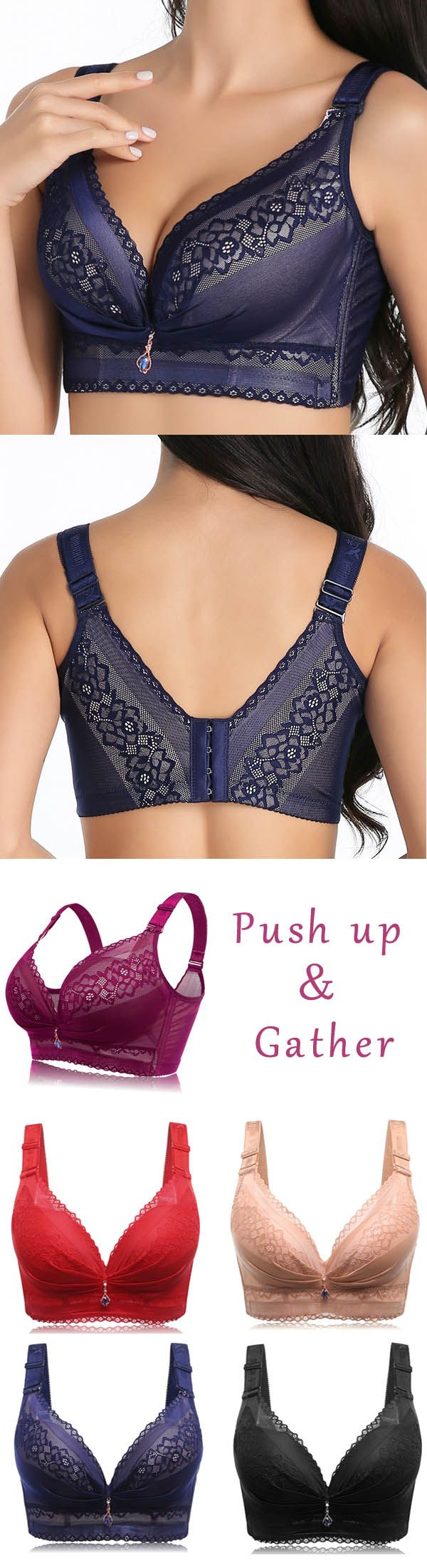 Full Cup Coverage Deep Plunge Wireless Adjusted Longline Bra. women bra, wireless bra, yoga bra, bandeau bra, push up bra, wonderbra, comfy vest bra, cami bra, plus size bras. Buy now!