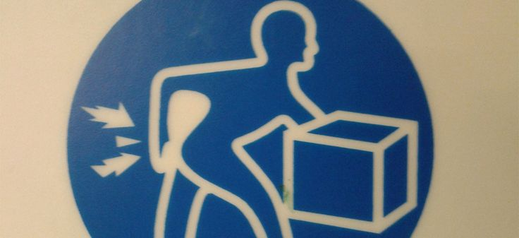 Warning! Lifting incorrectly may induce explosive farts / Philip Male via Flickr CC License by.