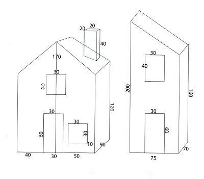 Provence cr ches plans maisons cr che pinterest for Maison en papier a construire