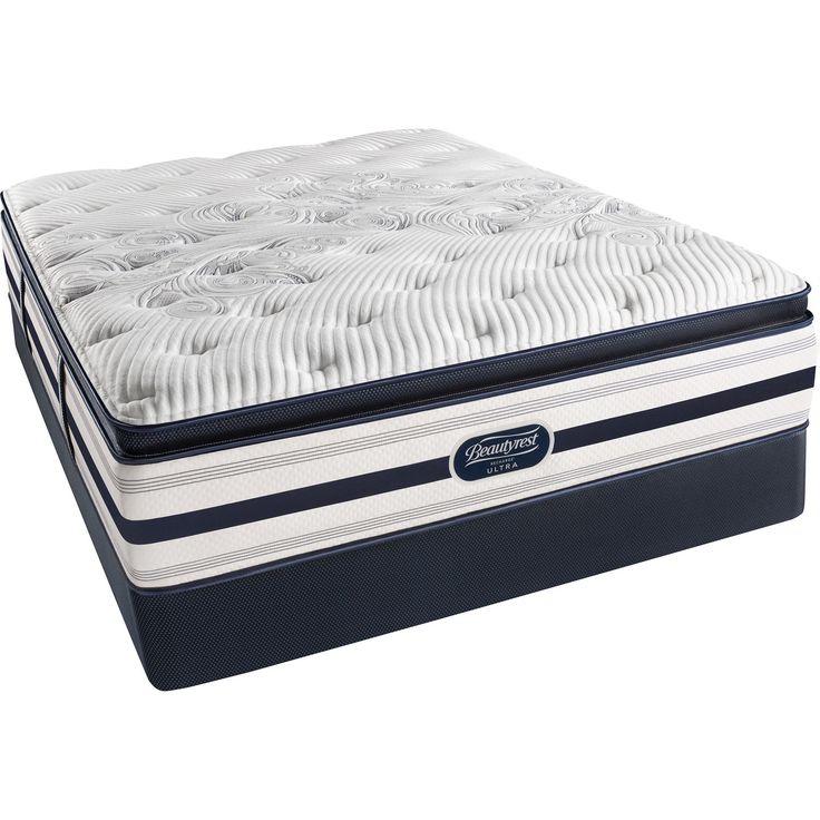 Beautyrest Recharge Reynaldo Luxury Firm Pillow Top Queen-size Mattress Set (Low Profile Set), White