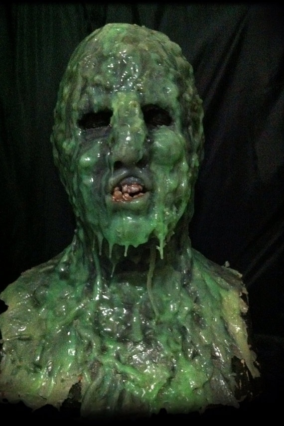 sludge the zombie full over the head by bloodlustproductions 35000 - Zombies Pictures For Halloween