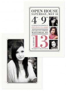 High School Senior Announcement Cards!  I love these