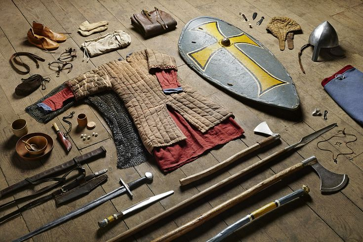 Huscarl, Battle of Hastings, 1066 | These Pictures Show Exactly How British Soldiers' Kit Has Changed Over The Last 1,000 Years