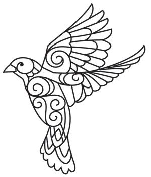 Oiseau doodle
