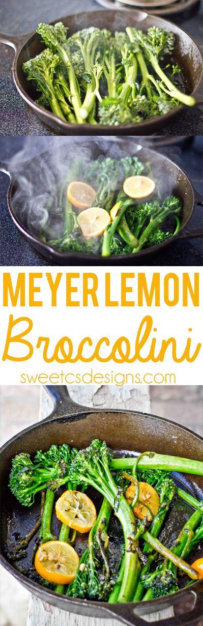 Meyer Lemon Broccolini - Sweet C's Designs