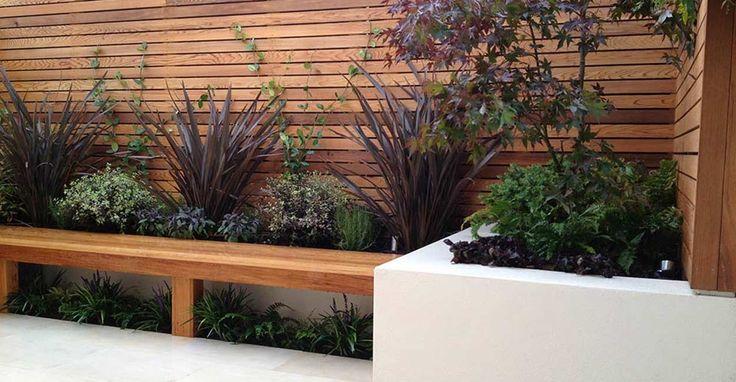 Contemporary garden design in Balham