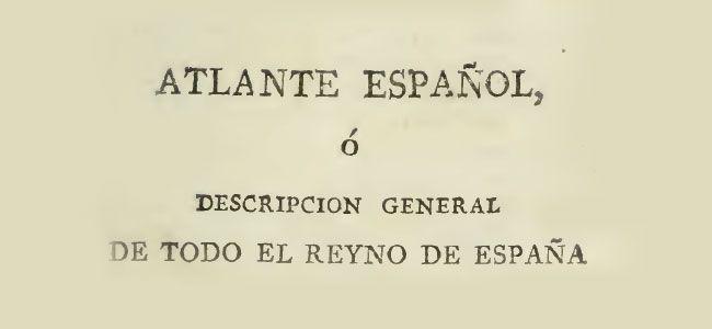 Descripción de Torremilano en el Atlante Español