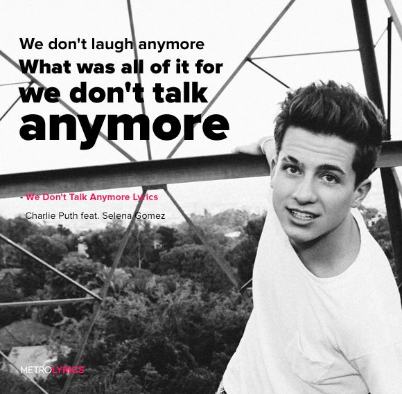 We Don39t Talk Anymore Charlie Puth Ft Selena Gomez Edit4me