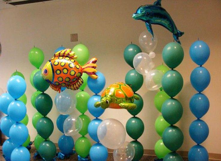 Идеи для детского дня рождения в морском стиле Ярмарка