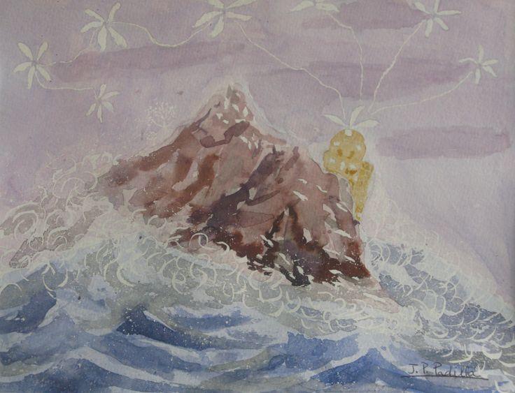 La isla que surgió del mar (Philippe Ebly)
