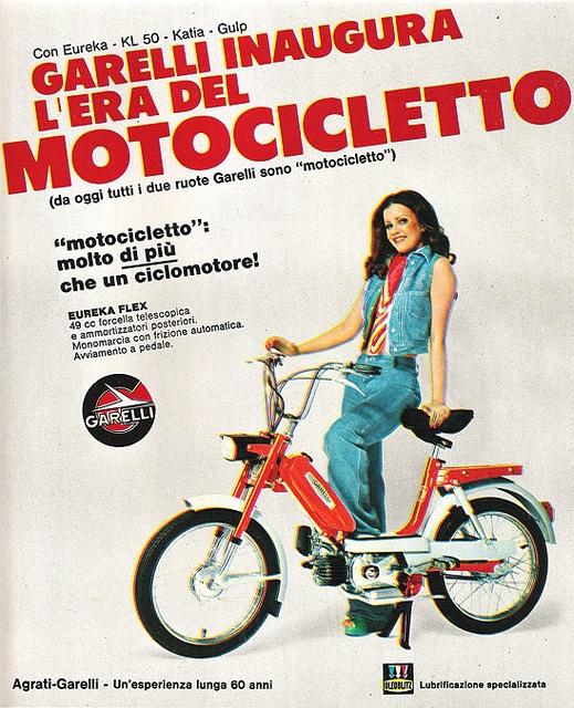 Garelli 1973 by Lollodj, via Flickr