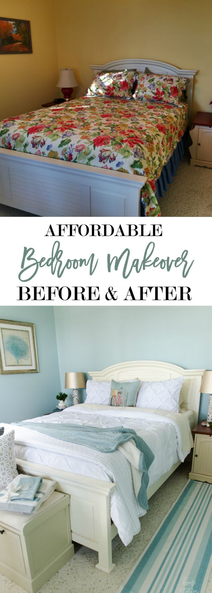 168 best bedroom images on pinterest bedroom ideas guest bedroom makeover before and after