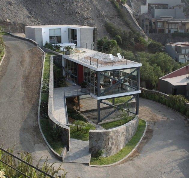 Mirador House, Lima, Peru  // Great Gardens & Ideas //Modern House Design, 2 8X Architects, Mirador House, 28X, Peru, Interiors, Modern Architecture, Dreams House, Cool House