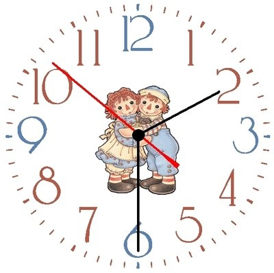 Clock that can be inscribed