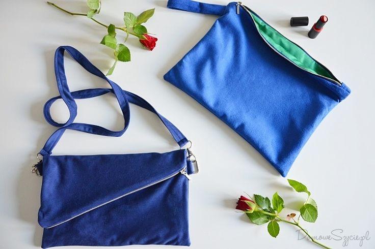 jak uszyć torebkę, torebka, handmade, diy, torebka diy, mała torebka, zamszowa torebka, tutorial, instrukcja szycia torebki, torebka z zamkiem, jak wszyć zamek do torebki