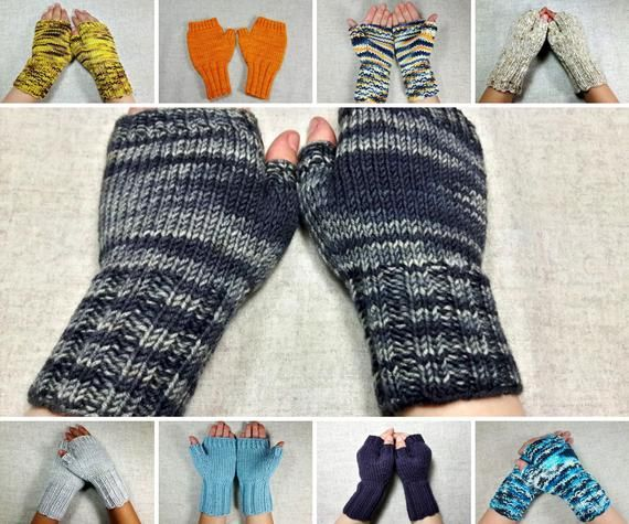 Fingerless Gloves For Kids In Many Different Colors Kids