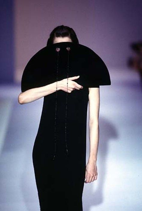 SCENT OF TEMPESTS by HUSSEIN CHALAYAN A/W 1997-98 -- #surrealism #style