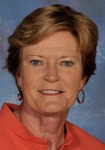 Pat Summitt, Head coach for Tennessee Lady Vols basketball for 38 yrs, never lost a season. Trained strong, successful young women for over three decades.
