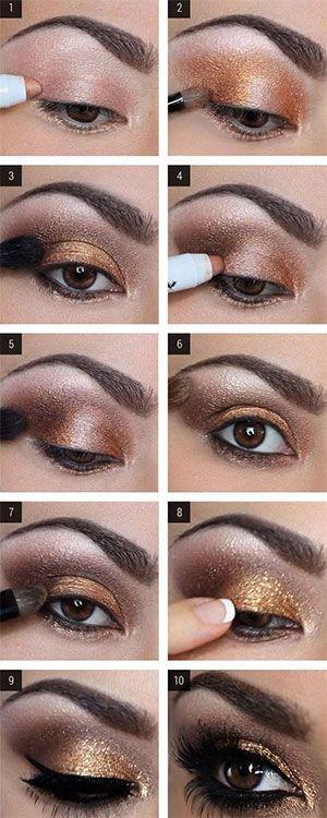 Maquillaje de ojos para pieles morenas y trigueñas #ownitandwearit ♥